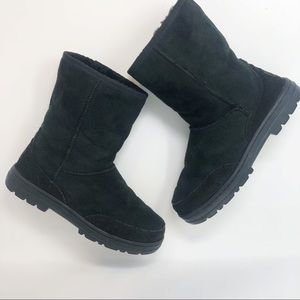 UGG AUSTRALIA BLACK BOOTS 7